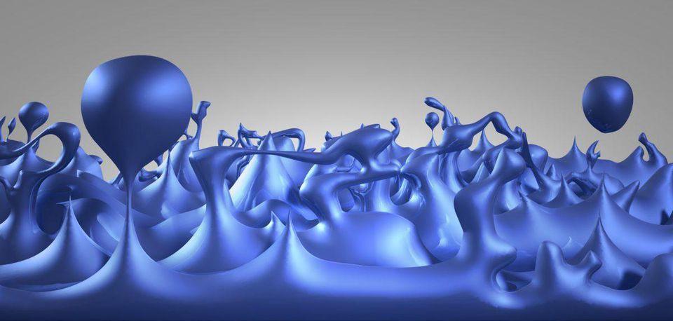 Quantenschaum vor Beginn der kosmischen Inflation